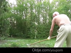 youthful wench lilu lures and bonks an old fart