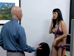 nadia is screwed by it is in the office