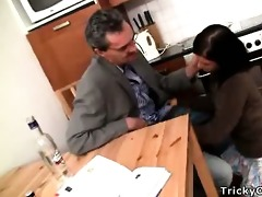 concupiscent teacher turns hot coed into a smutty