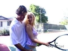 teen chick strokes weenie
