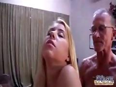 horny youthful maid bonks oldman 0