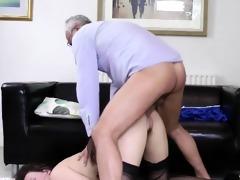 british women make old fellow jism