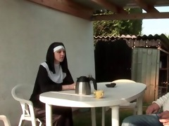 french nun anal screwed in some
