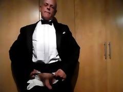 tuxedo jack off