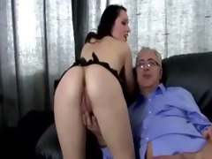 old dude fucks young sweet snatch