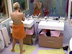 big brother sexy blond teen cutie exposed bathing