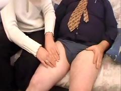 obese dad fucking big beautiful woman