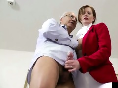 british non-professional drilled by old man dong