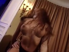exotic fucktoy rides a large cock