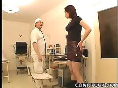 hot dark brown clinic tit play