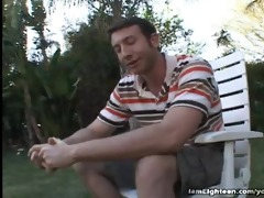 year old crissy cane takes jock