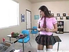 lustful student tells her teacher about her crush