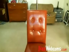 dad roleplay on web camera from schoolgirl