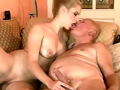 very old grandpapa fucks youthful hotty