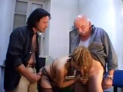 fortunate hotty suck grandpa knob