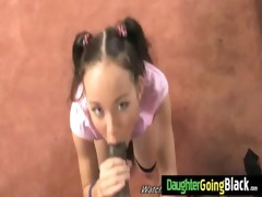 watching how my daughter is drilled by my