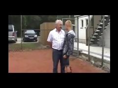 skinhead screwed bye old man by sail