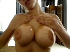 large titted cutie practices with her toy