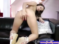 youthful legal age teenager sweetheart in outfit
