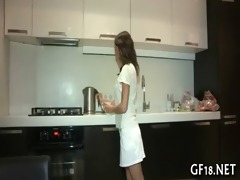 she is plays with big rod of guy