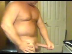 strong big shlong dad busts a hawt nut!