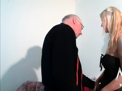 sexually excited old man can fucking a breasty