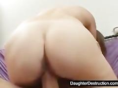 juvenile daughter drilled hard