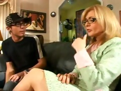 nina hartley with younger fellow