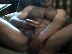 muscular bushy horny str11 daddy! hawt verbal