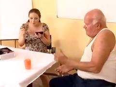 preggo - grand-dad mireck and preggo doxy