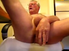 perverted oldman solo pounder and butt pleasure