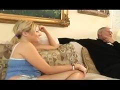 wench babysitter screws old man