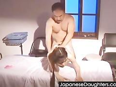 dad fine japanese daughter...