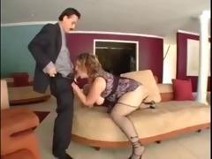 big beautiful woman school teacher copulates to