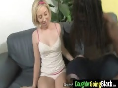 youthful daughter with good wazoo drilled by a