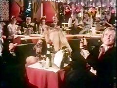 vintage old chap fuck in cabaret