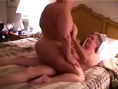 big beautiful woman rides oldman 6