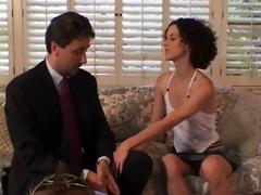 dad tests daughter roleplaying as a stranger