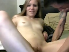 juvenile angel receives fingered then screwed my